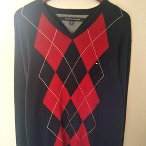 Tommy Hilfiger Mens 2XL Argile US Logo Sweater